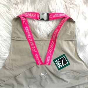 Puma x The Kooples Xtreme Hot Pink Tape Nude Dress